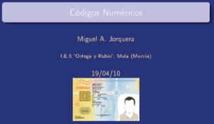 Códigos numéricos