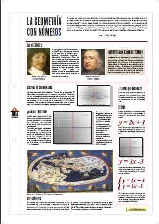 La Geometría con números