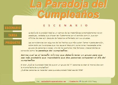 Paradoja cumpleaños