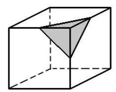Problema 1: Cubo cortado