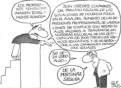 Profesores culpables