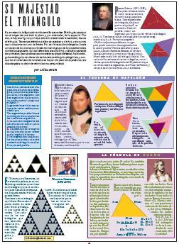 Su majestad el triángulo