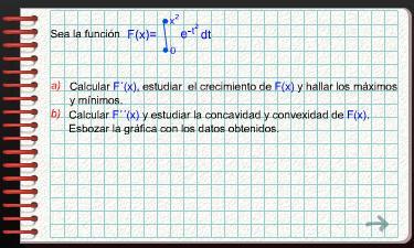Ejercicio 3: Estudio de una función integral