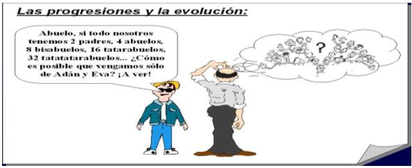 Las progresiones y la evolución