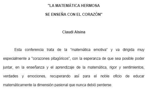 Matemática hermosa