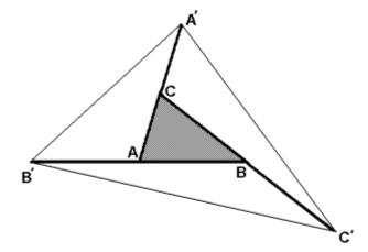 Triángulo duplicado