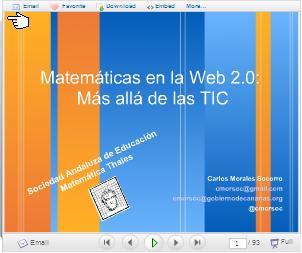 Matemáticas, TIC y cambio metodológico