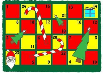Un juego matemático para cada día de Navidad