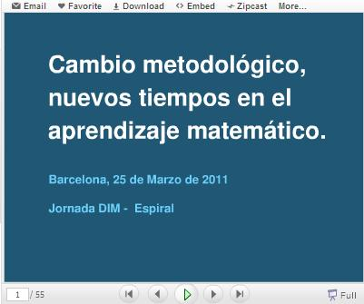 Nuevos tiempos en el aprendizaje matemático