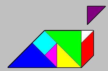Paradojas  con el tangram
