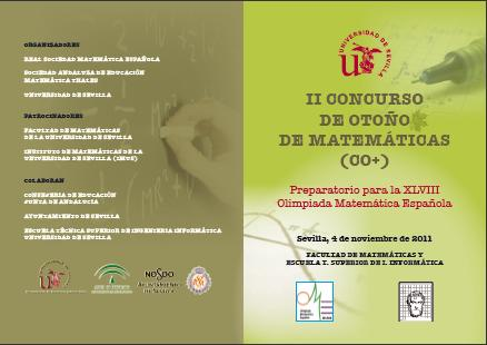 II Concurso de Otoño de Matemáticas (CO+)