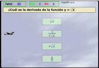Practica las derivadas jugando