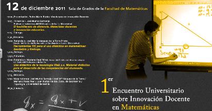 I Encuentro Universitario sobre Innovación docente en Matemáticas