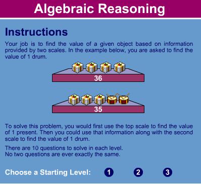 Razonamiento algebraico
