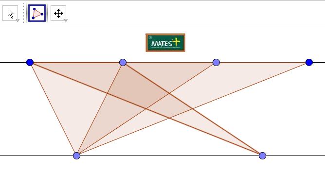 Rectas paralelas y triángulos