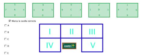 Rectángulo numérico