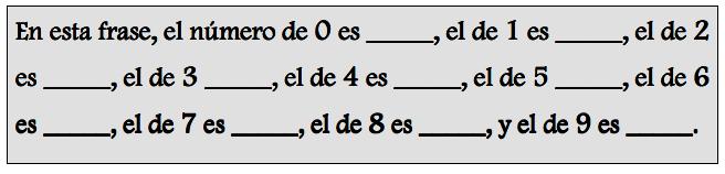 Frase enigmática
