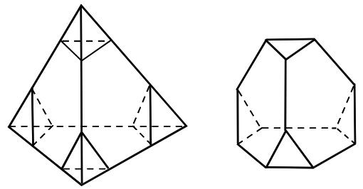 Truncando el tetraedro